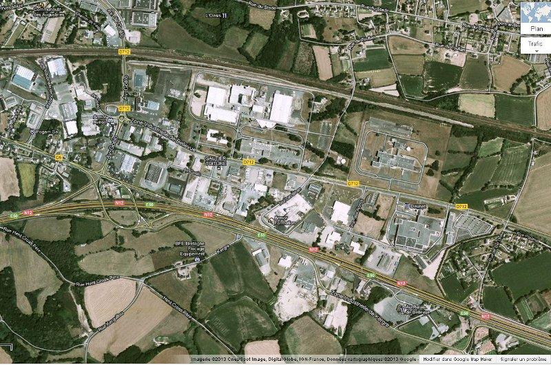 Les zones d 39 activit s commune de saint agathon for Zone commune